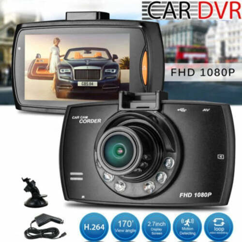 Hidden Car HD LCD 1080P DVR Vehicle Camera Video Recorder Dash Cam Night Vision