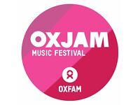 Oxjam Events Volunteer