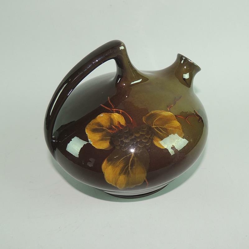 J.B. OWENS Ohio Art Pottery Handled Jug Lightweight Shape #791