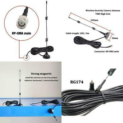 HD Wireless Security Camera Video Antenna Extension For Lorex, Funlux, XmartO, R ()