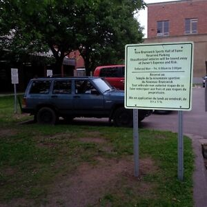 Parking in Downtown Fredericton