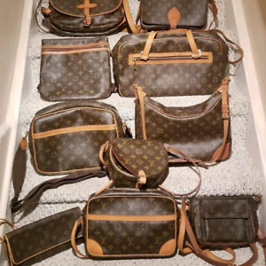 Authentic Louis Vuitton, Chanel and Gucci items