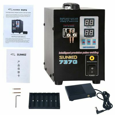 Hand Held Sunkko 737g Battery Spot Welder With Pulse Current Display Usa Hot