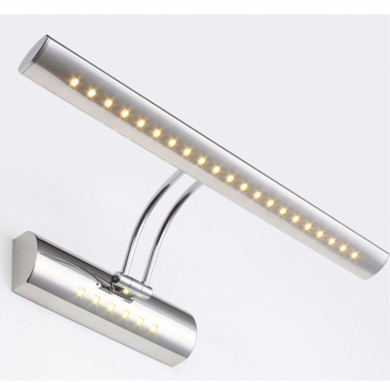 Wall Light with Stainless steel Swing arm in Bathroom Modern