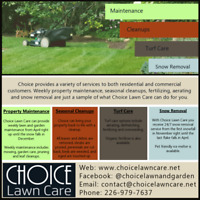 Spring Cleanups and Property Maintenance