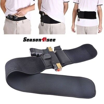 Ultimate Belly Band Gun Holster Tactical Concealed Carry Gun Pistols  Revolvers
