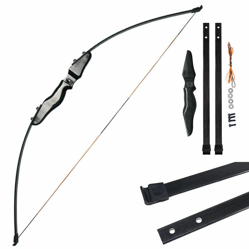 """51"""" 40lbs Straight Shoot Bow Archery For Kids Child Youth Practice Outdoor"""
