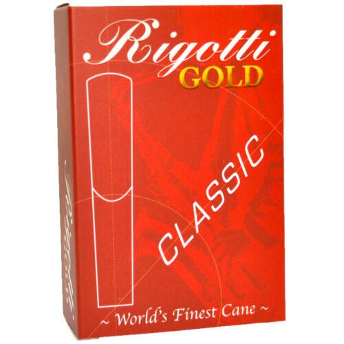 Rigotti Gold Classic Soprano Saxophone Reeds Size 1.5 - $20.99