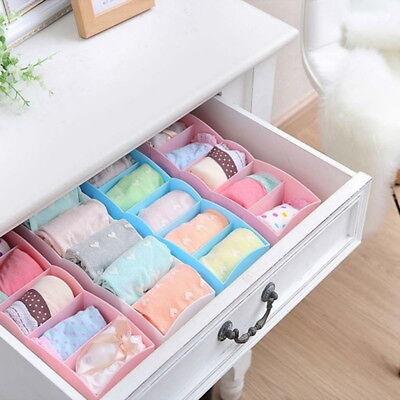 US Storage Case Underwear Organizer Storage Socks Drawer Cosmetic Divider (Socks Case)