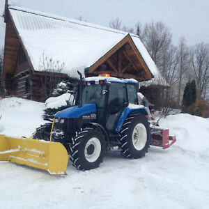 Tracteur TS100 New Holland