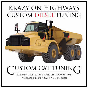 CAT Equipment Emissions Removal Remapping