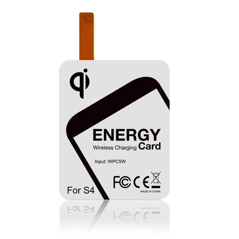 Qi Samsung Galaxy S4 Wireless Charging Kit - Black