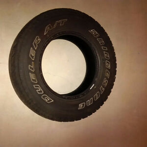 Looking for a Spare Tire - 1- Bridgestone Dueler A/T