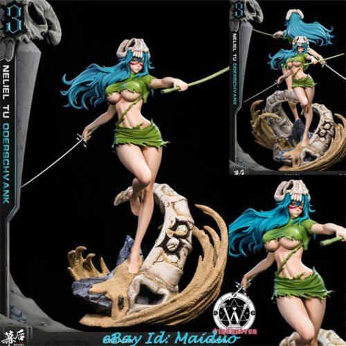 BLEACH Neliel Tu Oderschvank Statue Resin Model GK Figurine MH studio New 1/8