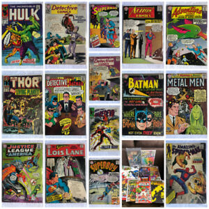HUNDREDS OF VINTAGE COMIC BOOKS