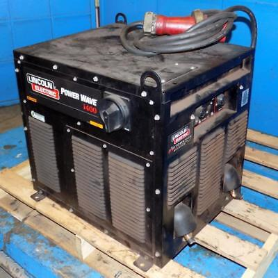 Lincoln Electric Robotic Welding Power Source Power Wave I400