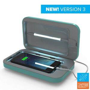 PhoneSoap 3 UV Cell Phone Sanitizer and Dual Universal Cell Phon