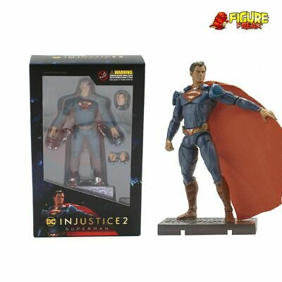 "Hiya Toys DC Comics Injustice 2 Superman 3.75"" Action Figure (1:18 Scale)"