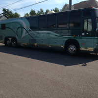 Tour bus for sale