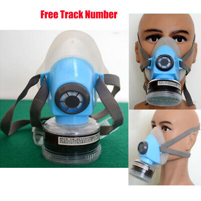 Half Face Mask Respirator Dust Paint Welding Air Safety Filter With Cartridges