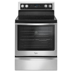 Ranges YWFE745H0FS Freestanding Electric Range with True (BD-951)