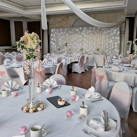 Chair cover and sash hire £1 and more!