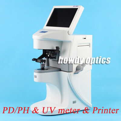 Auto Lensmeter Optical Lensometer Digital Lens Meter With Printer Pdph Uv Meter