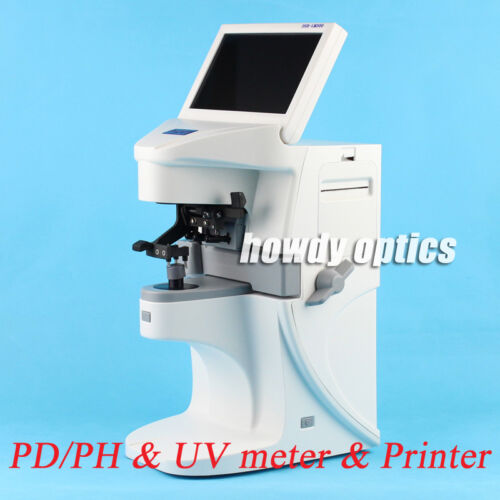 Auto lensmeter Optical lensometer Digital lens meter with Printer PD&PH UV meter