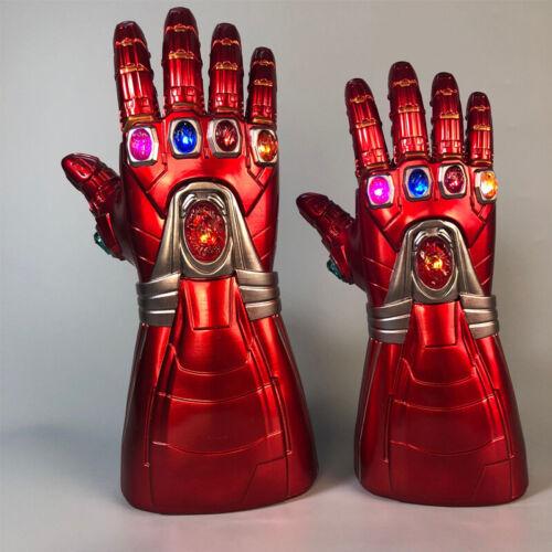 Avengers Iron Man Stark Party Cosplay Gauntlet Glove LED Light Hand Kids Gift UK