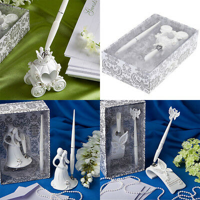 For Party Wedding Reception Guest Book Signing Pen Holder Stand Decor Pen