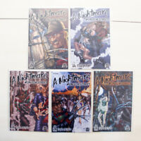 Nightmare on Elm Street Avatar Comics Paranoid 1-3 Fearbook