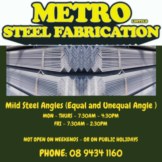 Mild Steel Angles (Equal and Unequal Angle )