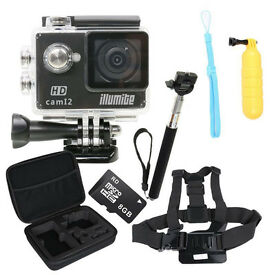 Illumite Action Camera Bundle
