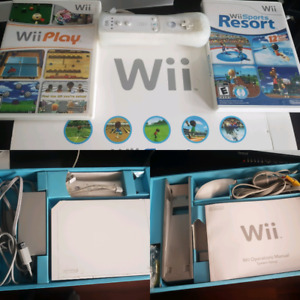 Nintendo Wii with all original packaging