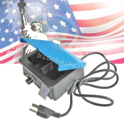【USA】 Dental 3-Well Analog Wax Melting heating Pot Heater Melter Lab 300W CE