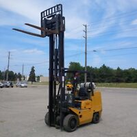 TCM FCG36N6 8000lb Cushion Tire Forklift