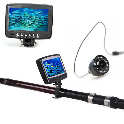 "Eyoyo 4.3"" 15M Color Monitor Underwater Camera Ice/Sea/Boat Fishing Fish Finder"