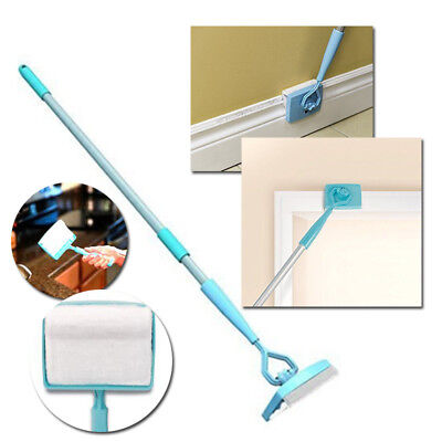 MS Tools | No-Bending Mop Kit for Cleaning Baseboards& Moldings marvellousgadget
