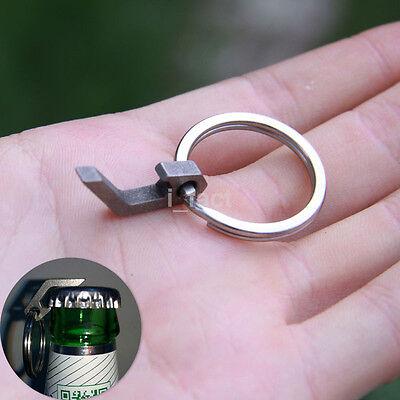 Popular EDC Stainless Mini Bottle Opener Outdoor Camping Pocket Tool Keyring 1PC