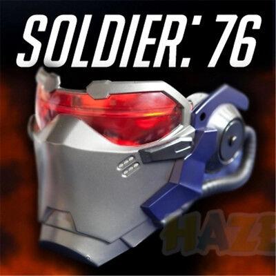 Soldat de jeu 76 15 AIR VENTS Masque LED Cosplay Halloween Party