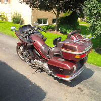 classic touring Motorcycle