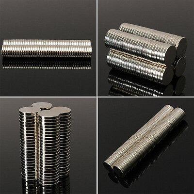 1050100pcs Super Strong Round Disc Magnets Rare-earth Neodymium Magnet N35n50