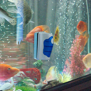 Magnetic-Brush-Aquarium-Fish-Tank-Glass-Algae-Scraper-Cleaner-Floating ...