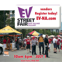 East Village Street Fair activities and cultural exhibits