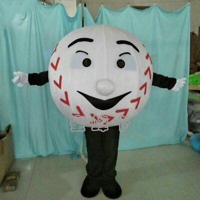 Cosplay Hot Adult Baseball Mascot Costume Suit Party Game Dress Outfit Halloween