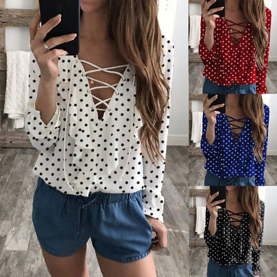 Fashion Summer Women Casual Chiffon Long Sleeve Ladies Shirt Loose Tops Blouse