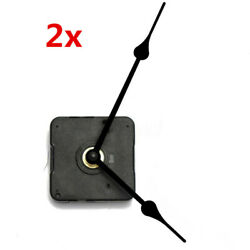2X Wall Clock Quartz Movement DIY Mechanism Battery Operated Motor Repair DIY