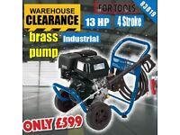 DRAPER EXPERT 83819 13HP PETROL PRESSURE WASHER POWER WASH 4 STROKE brass pump