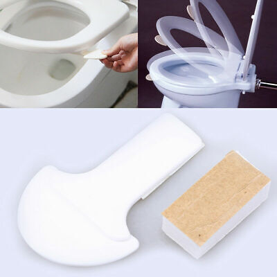 Bathroom Toilet Seat Lid Cover Lifter Lifting Device Handle Holder (Convenient Lifting Handles)