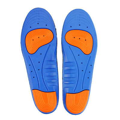 Men Women Gel Orthotic Sport Insoles Insert Shoe Pad Arch Support Heel -